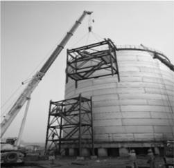 First ethylene tank